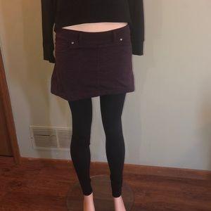 Athleta mini skirt with built in leggings